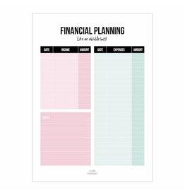 Planner financiën Like an absolute boss