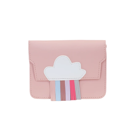 Handtasje regenboog roze