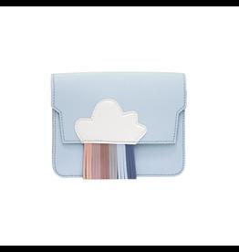 Handtasje regenboog blauw