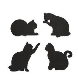 Ba: Onderzetters kat magnetisch