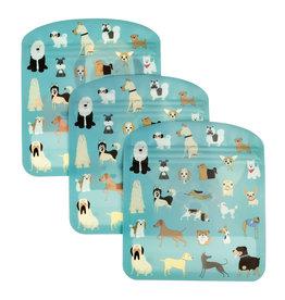 Herbruikbare zakjes (3st.) hond