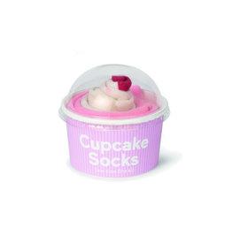 Sokken cupcake