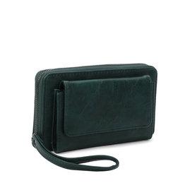 Portemonnee groot groen