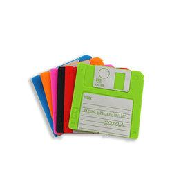 Onderzetters floppy disc