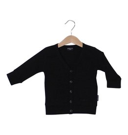 Lucky No. 7 Black Cardigan
