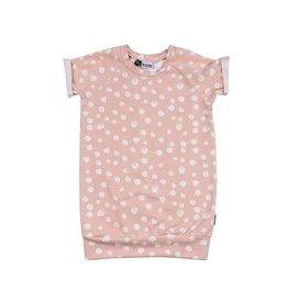 Kleine Baasjes Pink Dot Dress