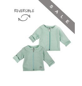 Zero2Three Mintgroen vestje - reversible