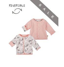 Zero2Three Roze vestje - Reversible