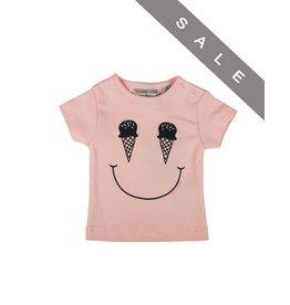 Zero2Three T-shirt roze ice cream