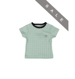 Zero2Three T-shirt - Minty triangle