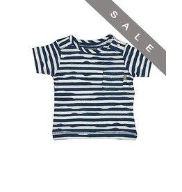 KidsCase Blauw-wit t-shirt