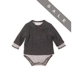 Babaluno Grey Bodysuit