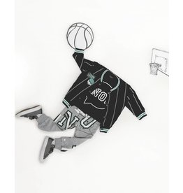 Lucky No. 7 Baseball Jacket