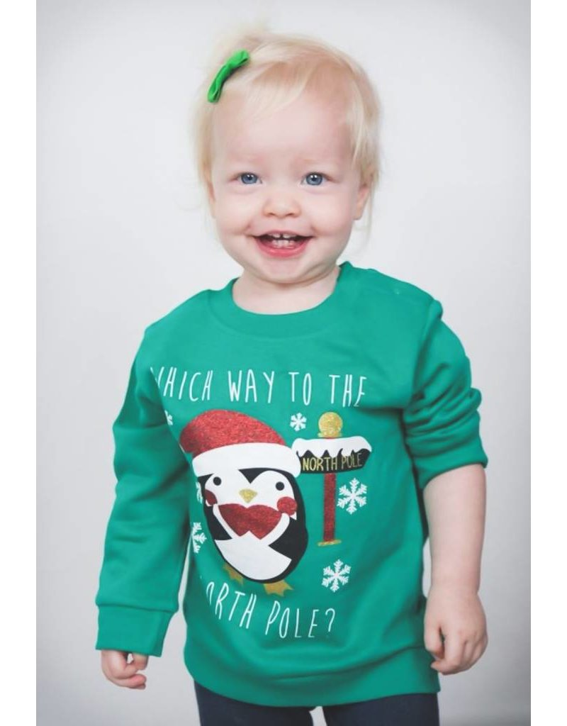 HashtagBaby Foute Kersttrui