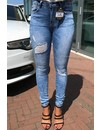 SPICY SKINNY JEANS - HIGH RISE