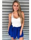 ROYAL BLUE - 'SARINA' LACE PLAYSUIT