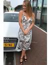 WHITE - 'LUANNE' CROCHET LACE MERMAID DRESS