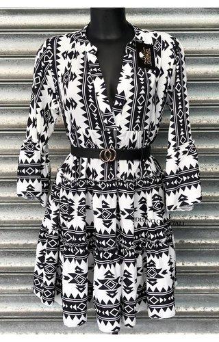 WHITE - 'DONNA VIVA' - INSPIRED DRESS