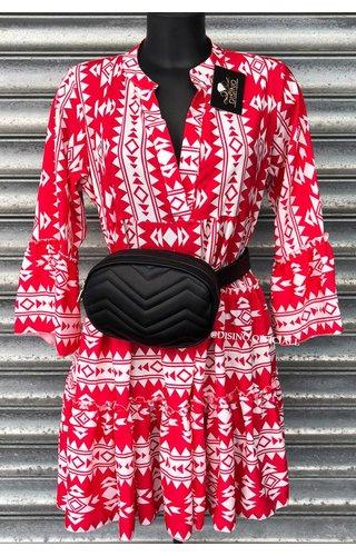 RED - 'DONNA VIVA' - INSPIRED DRESS