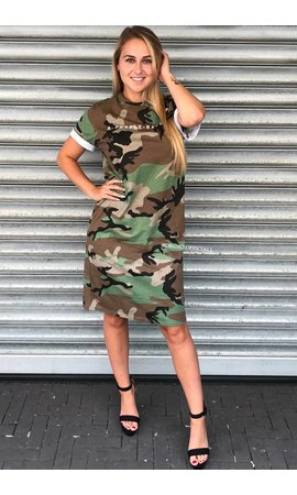 CAMO - PURPLE HAZE OVERSIZED TEE