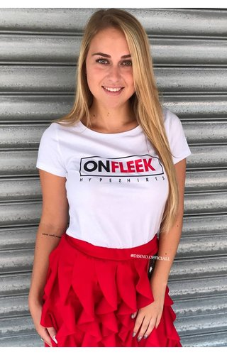HypeShirts WHITE - 'ON FLEEK' - PREMIUM QUALITY TEE