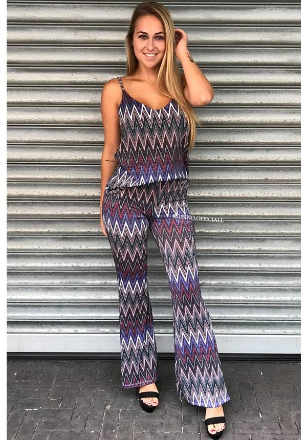 PURPLE - FUNKY GLITTER TWO PIECE