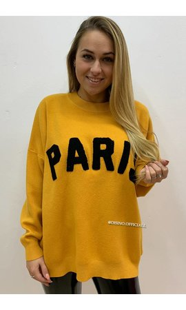 OCHER - 'PARIS' - PREMIUM QUALITY OVERSIZED SWEATER