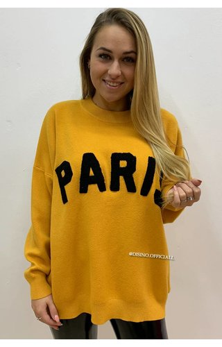 OCHER - 'PARIS' - PREMIUM QUALITY OVERSIZED SWEATER