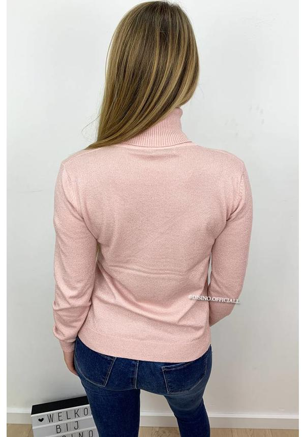 GLITTERLY PINK - 'PERSISTENCE' - SOFT TOUCH NUDE COL TOP
