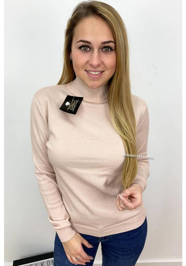 GLITTERLY BLUSH - 'PERSISTENCE' - SOFT TOUCH NUDE COL TOP