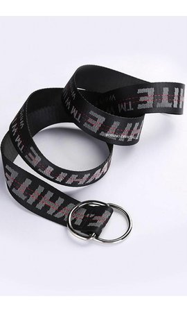 BLACK - OFF-DISINO INDUSTRIAL BELT