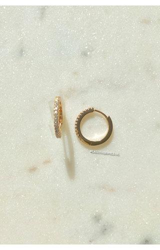 DIAMOND RING EARRINGS
