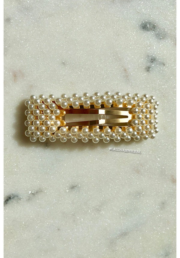 OPEN PEARLS PIN
