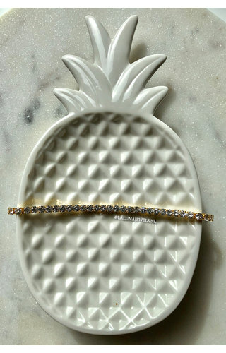 GOLD - ALL DIAMONDS BRACELET