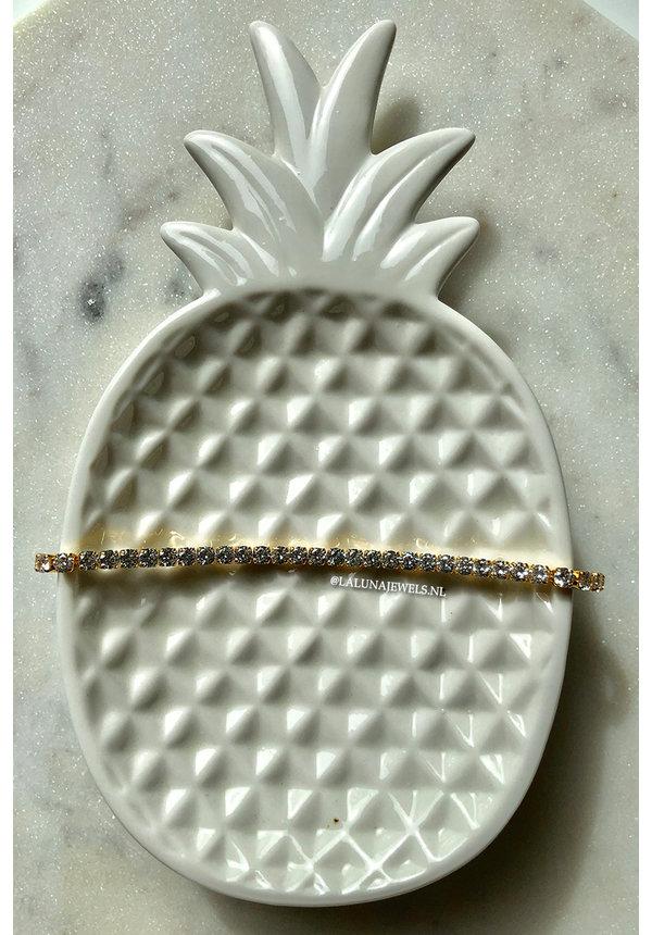 GOLD - ALL DIAMONDS BRACELET