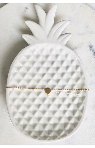 GOLD - HEART BRACELET