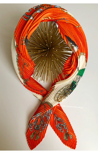 ORANGE - VERBACI SCARF