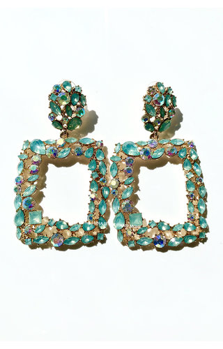 GOLD - COLOR PARADISE EARRINGS