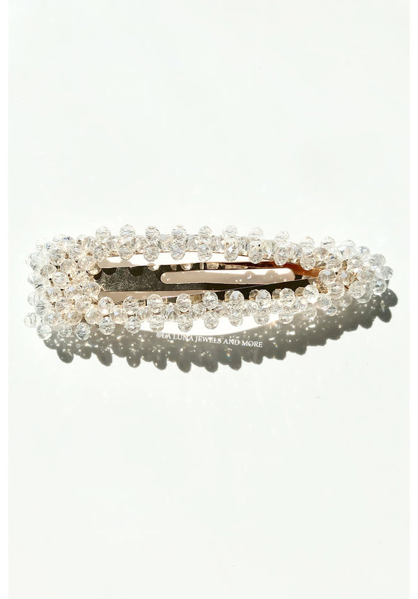 WHITE - BEAD PIN