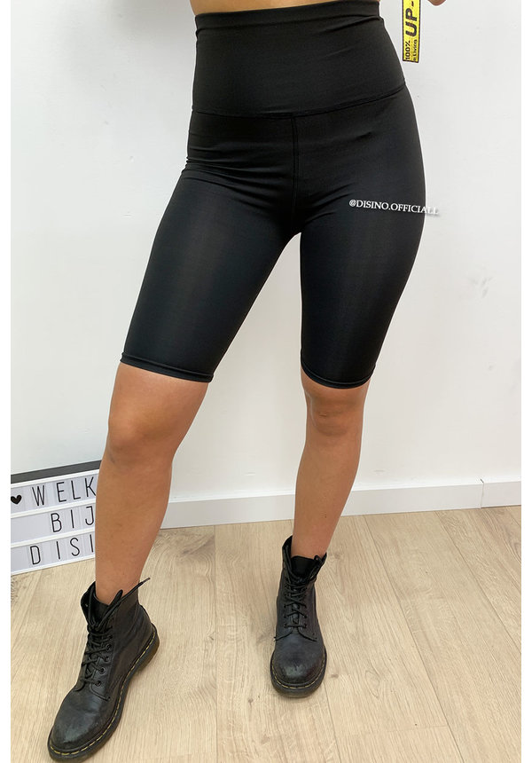 BLACK - 'TANISHA' - BIKER SHORTS