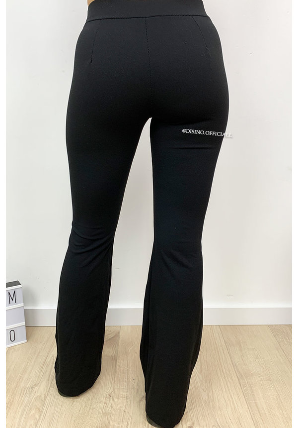 BLACK - 'MIRA' - THE BEST FLARED PANTS