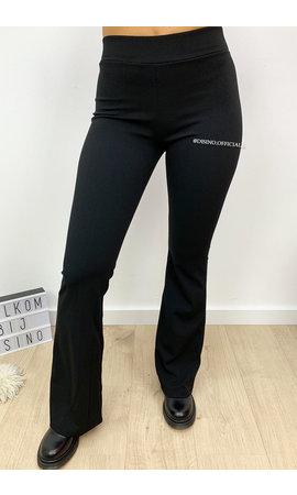 BLACK - 'MIRA' - THE BEST FLARED PANTS