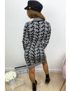 BLACK - 'FENNITY' - INSPIRED KNITTED DRESS