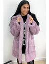 LILA - 'WINNIE' - SUPER SOFT OVERSIZED TEDDY COAT