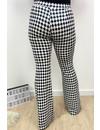 BLACK - 'MISS DYLA FLARE' - INSPIRED VELVET FLARED PANTS