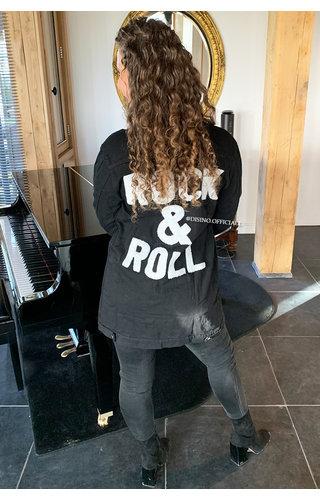 BLACK - 'ROCK IT' - ROCK 'N ROLL DENIM JACK