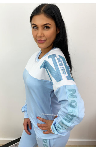 LIGHT BLUE - 'NAOMI' - COMFY SET INSPIRED STYLE