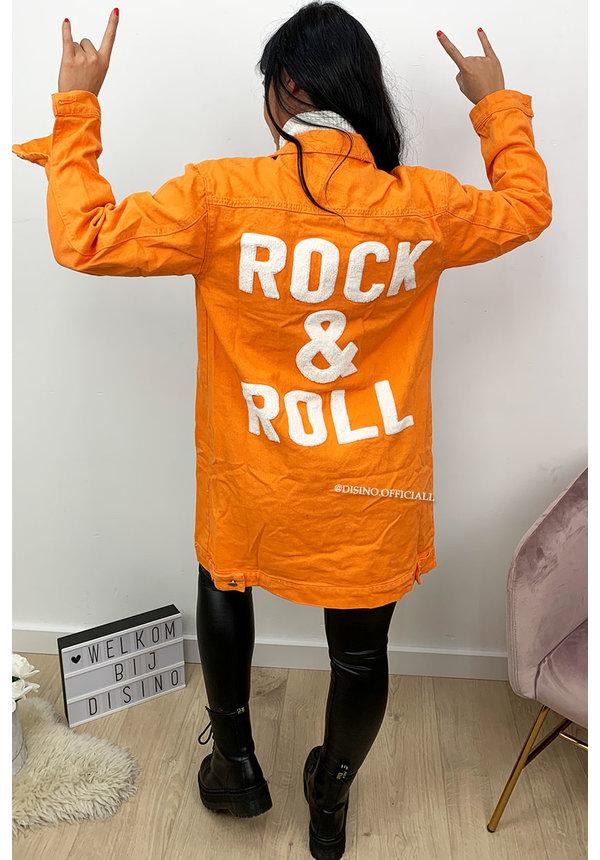 ORANGE - 'ROCK IT' - ROCK 'N ROLL DENIM JACK