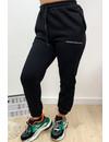 BLACK - 'ELLISH' - PERFECT STYLISH  JOGGER PANTS