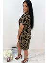 BROWN - 'FERRERO' - COMFY OVERSIZED TEE DRESS